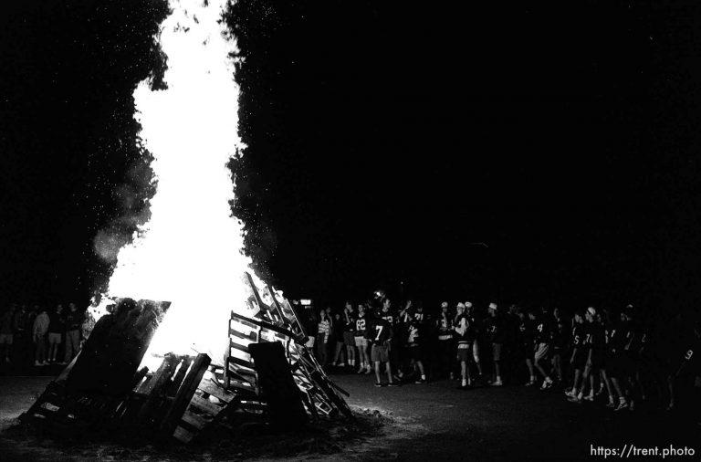 Provo High Bonfire