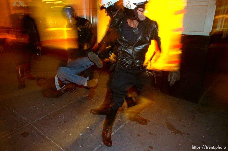 Rioting after Rodney King Verdict