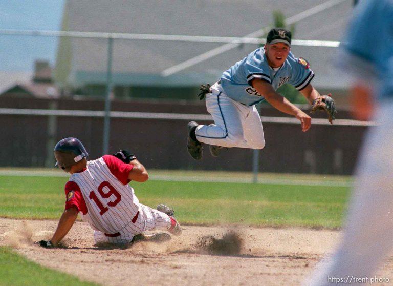 West Jordan v Valley View, Legion Baseball