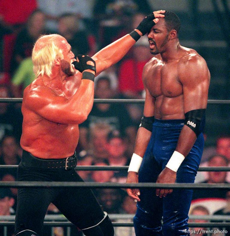 WCW: Karl Malone and DDP vs. Dennis Rodman and Hulk Hogan