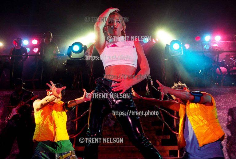 Britney Spears at the Utah State Fair