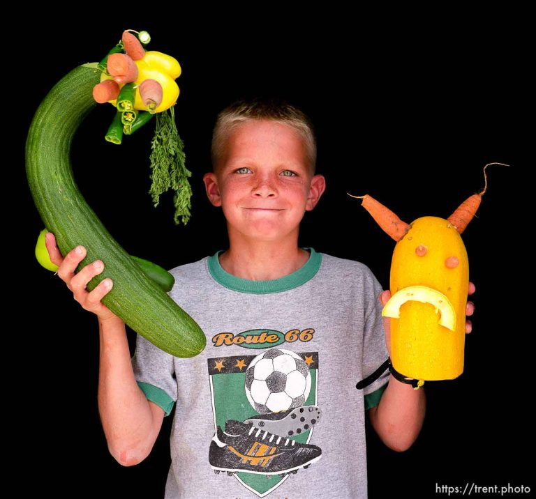 Beaver County Fair – Vegetable Carving