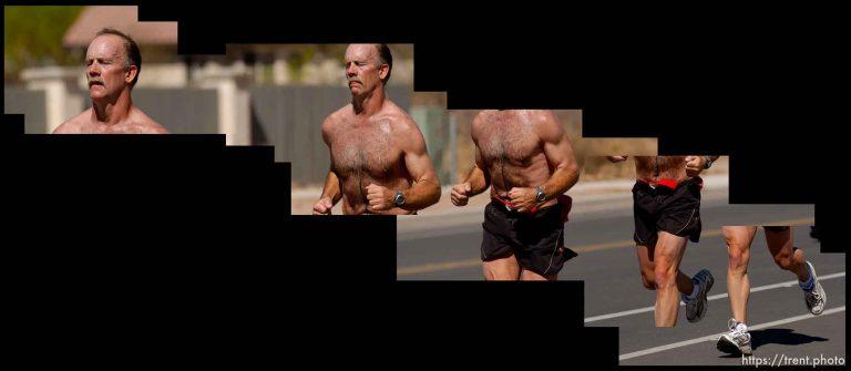 Moab Half Marathon Runners