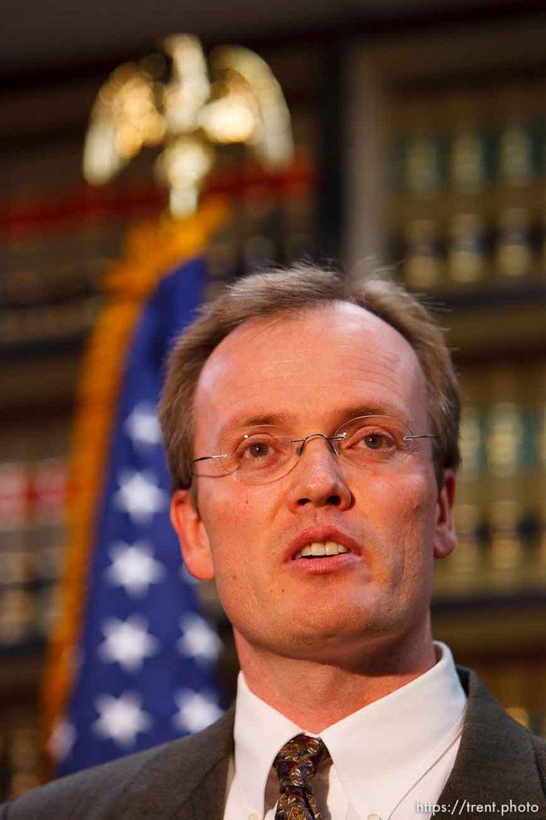 Charges Against Warren Jeffs Press Conference