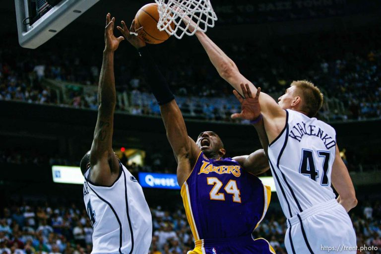 Utah Jazz v Los Angeles Lakers, Game 6