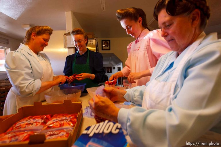 FLDS in Westcliffe – In the Kitchen