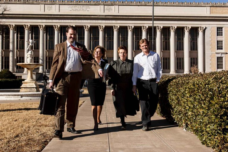 People Walking Into Court … or … Having More Fun Than Humanly Possible