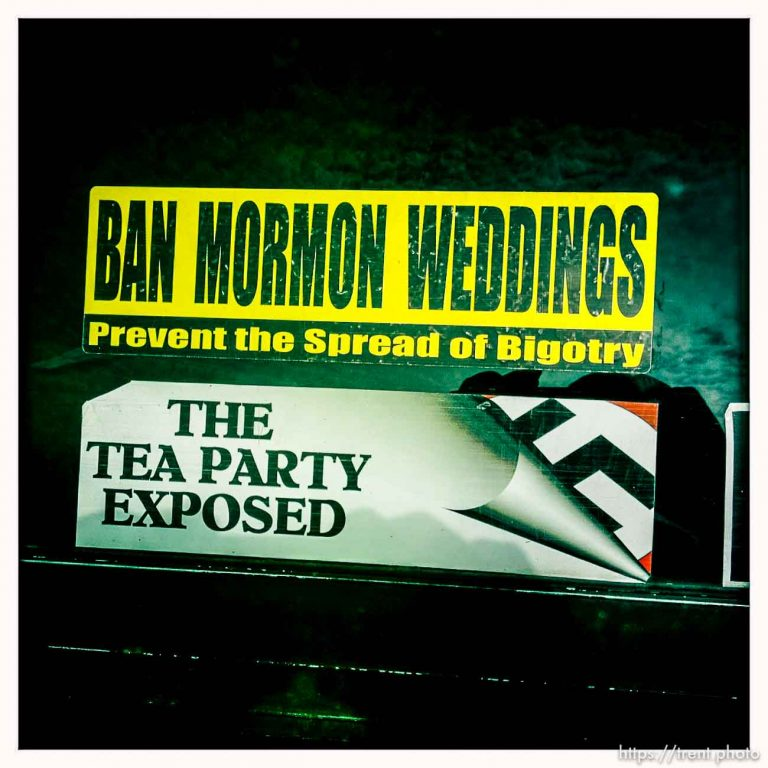 Ban Mormon Weddings