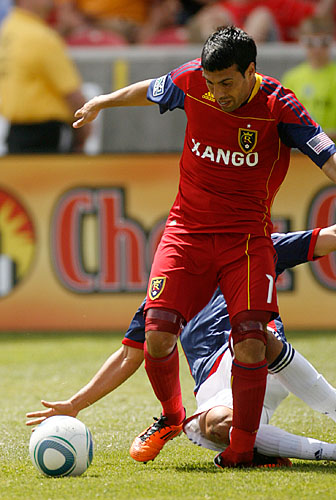 Javier Morales Injured – Real Salt Lake