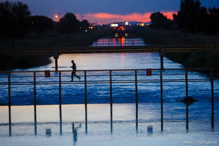 Jordan River Oil Spill