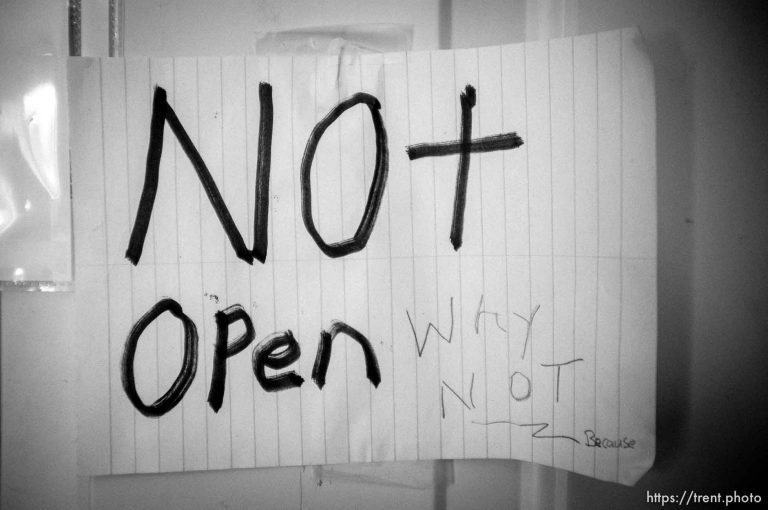 Not Open Why Not