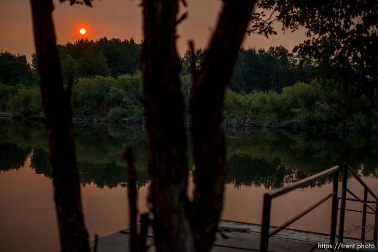 Sunrise at Beaver Dick Park