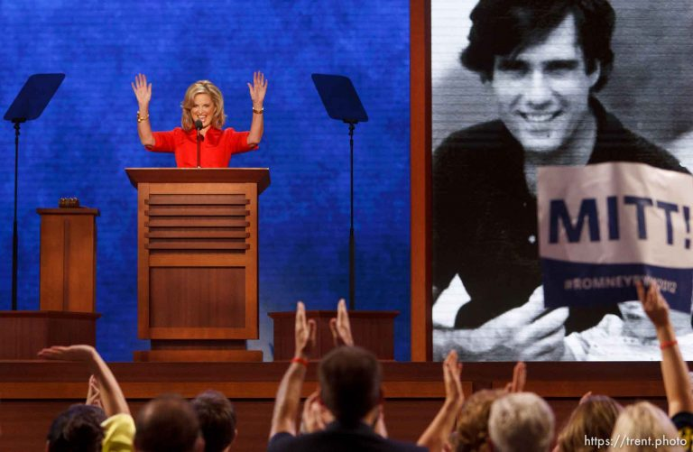 Ann Romney speaks at Republican National Convention