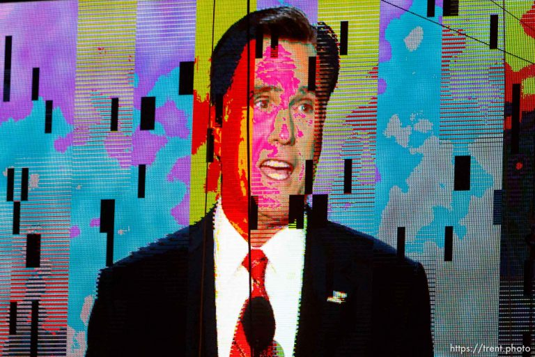 Mitt Romney LCD – Republican National Convention