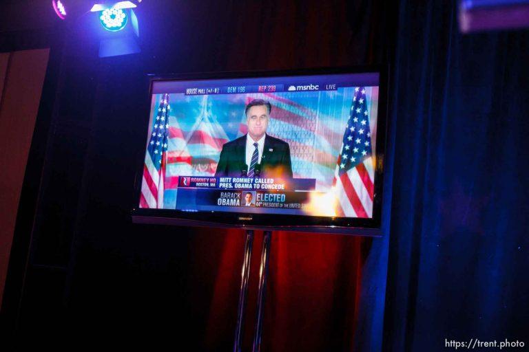 Mitt Romney Concession