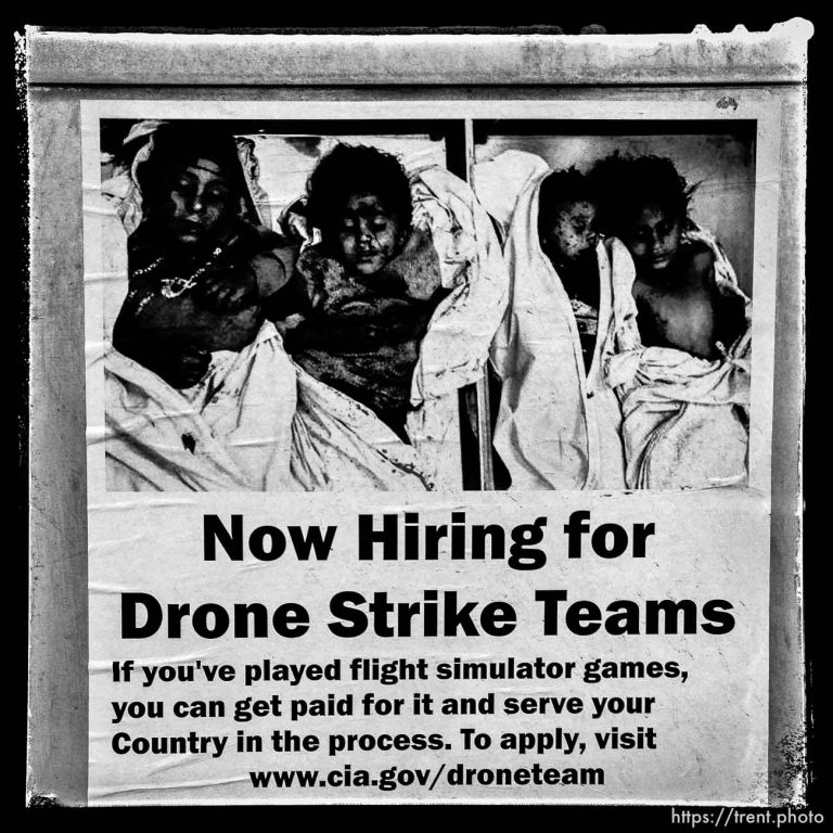 Now Hiring for Drone Strike Teams