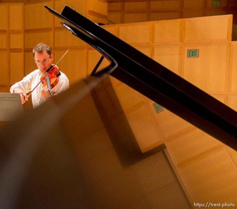 violinist Claude Halter
