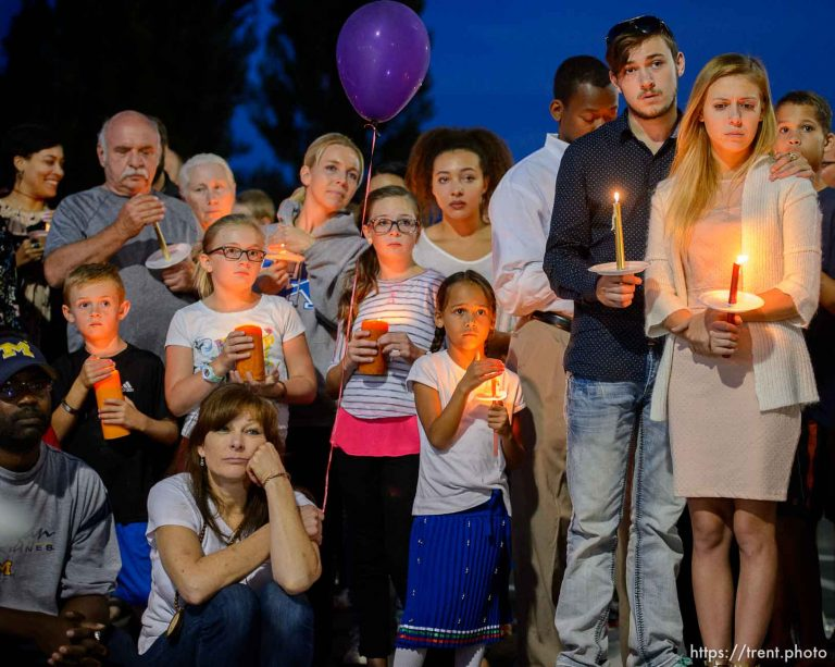 Darrien Hunt Candlelight Vigil