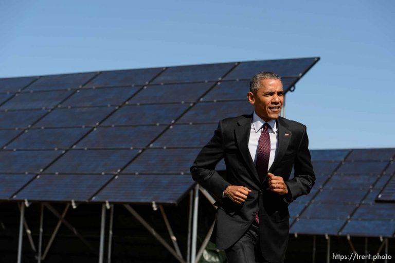 Obama at Hill Air Force Base