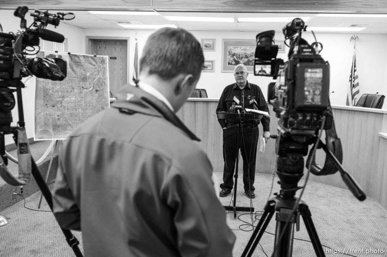 Short Creek Flash Flood Press Conference