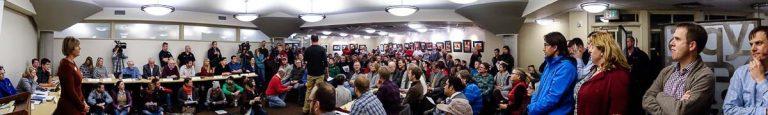 Overflow Crowd-Salt Lake City