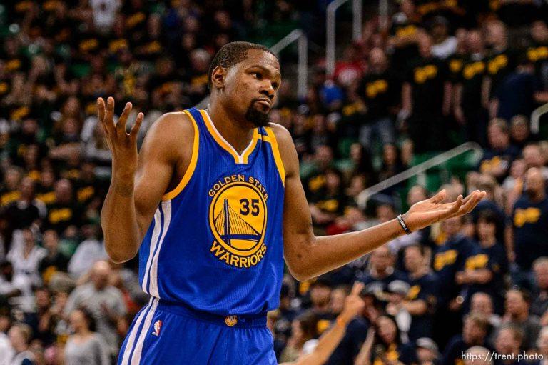 Utah Jazz v Golden State Warriors, Game 3
