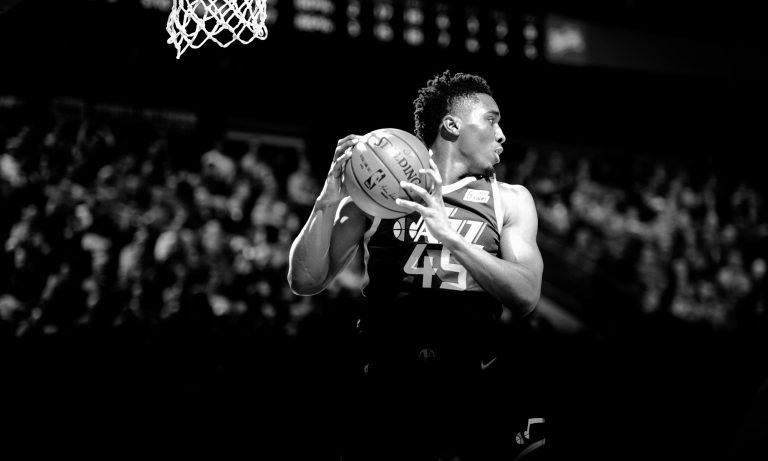 Donovan Mitchell, Utah Jazz vs. Portland Trail Blazers