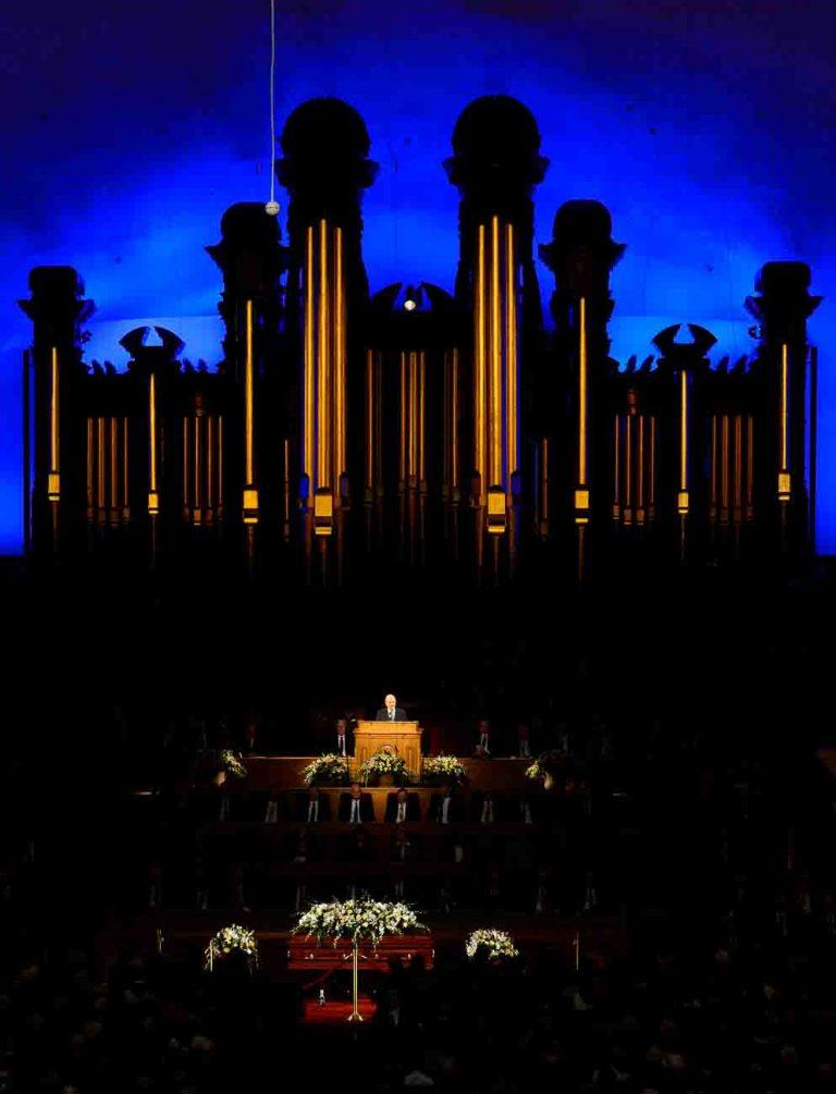 Funeral services for Elder Robert D. Hales