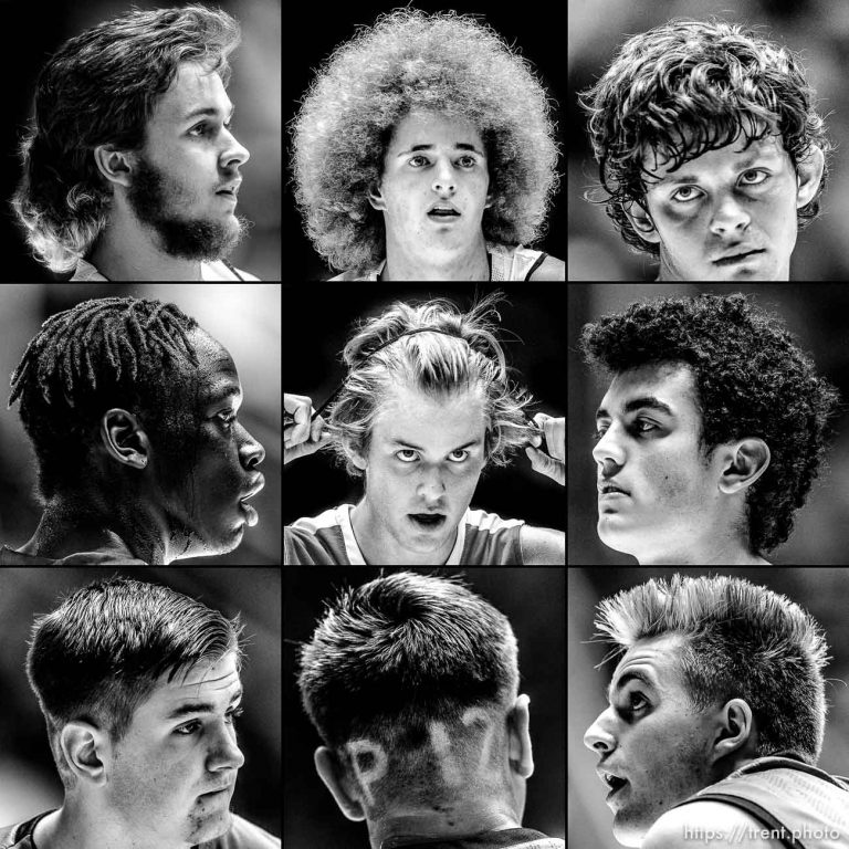 The Hairstyles of High School Basketball