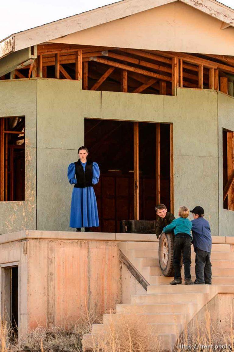 Green House, Blue Dress