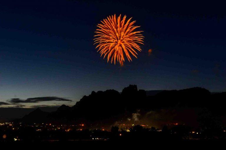 Fireworks over Short Creek