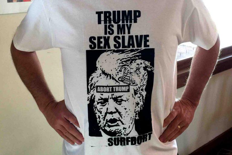 Trump is my sex slave / Surfbort