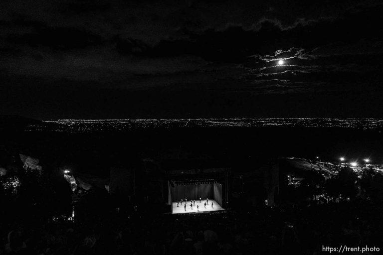 David Byrne at Red Rocks