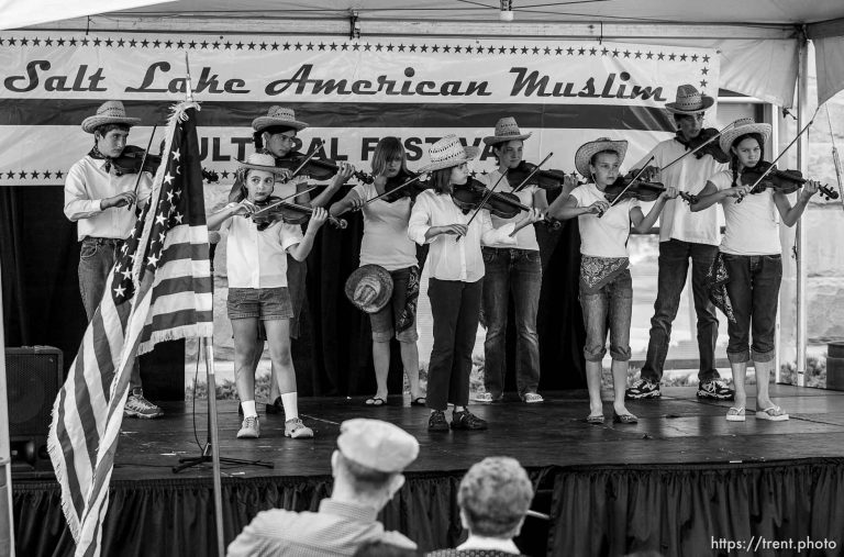 Fiddlers at Salt Lake American Muslim Cultural Festival