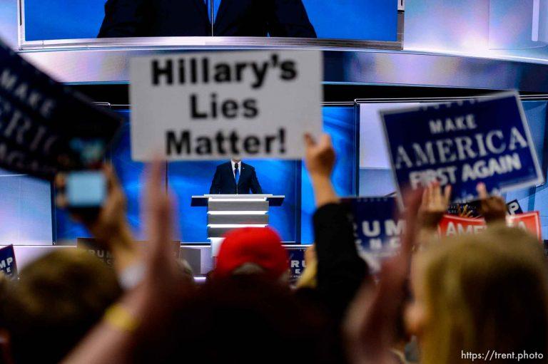 Hilary's Lies Matter