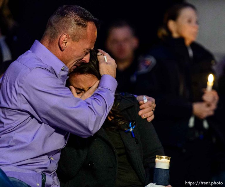 Vigil for Officer Cody Brotherson
